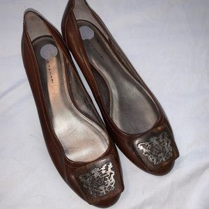 Elie Tahari Brown Flats